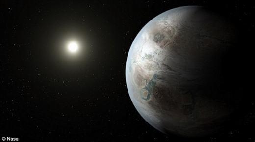 """Chúng ta cũng đang kì vọng sẽ tìm thấy """"hàng xóm"""" ngoài Trái đất. (Ảnh: NASA)"""