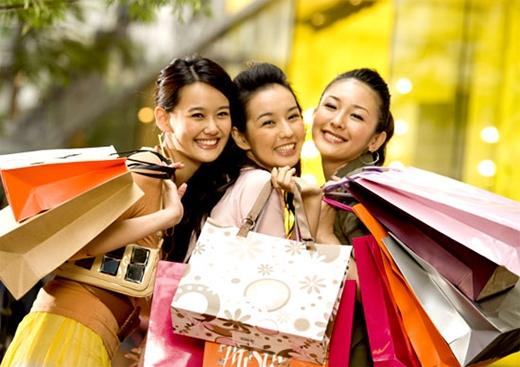 Tâm trạng sung sướng như ở trên mây sau khi mua sắm, và phút giây thư giãn sau những giờ tìm kiếm vất vả(Ảnh: Internet)