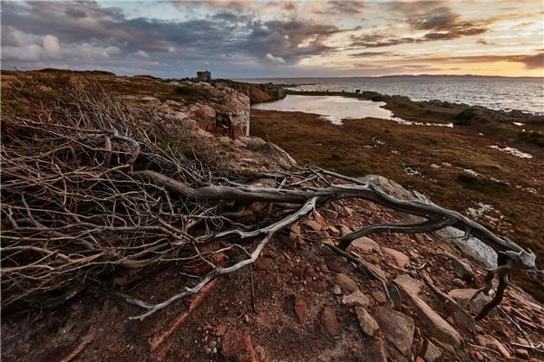 Bờ biển Skane (Thụy Điển) nằm ở vị trí thứ 9.Ảnh:New York Times