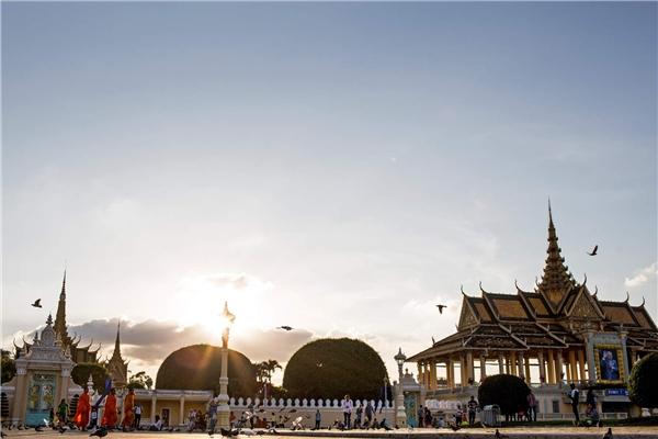 Phnom Penh -được xem là một thiết kế phục hưng ở thủ đô của Campuchia. Địa điểm này nằm ở vị trí 45.Ảnh:New York Times