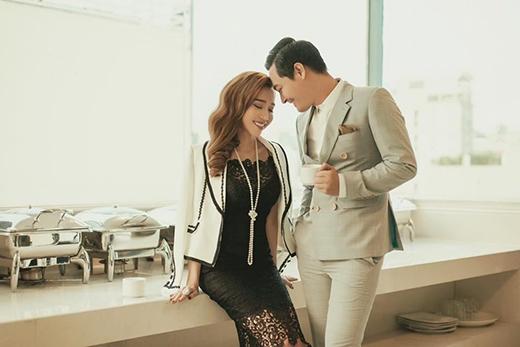 Bộ ảnh đẹp lunglinh Elly thực hiện cùng MC Phan Anh tháng 12/2015 (Ảnh: Facebook) - Tin sao Viet - Tin tuc sao Viet - Scandal sao Viet - Tin tuc cua Sao - Tin cua Sao