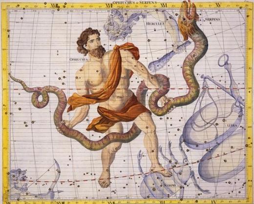 Cung Xà Phu Ophiuchus (Ảnh: Internet)