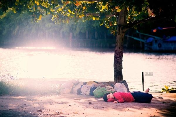 Ảnh được tác giả Nguyễn Khắc Thế chụp vào cuối tháng 9, trên đường trở về sau khi thăm một ngôi chùa ở Kiên Giang. (Ảnh: Internet)