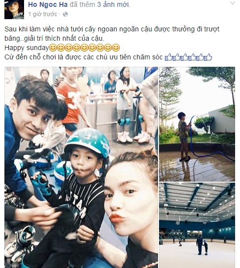 Hồ Ngọc Hà tự hào khoe ảnh Subeo ngoan ngoãn làm việc nhà - Tin sao Viet - Tin tuc sao Viet - Scandal sao Viet - Tin tuc cua Sao - Tin cua Sao