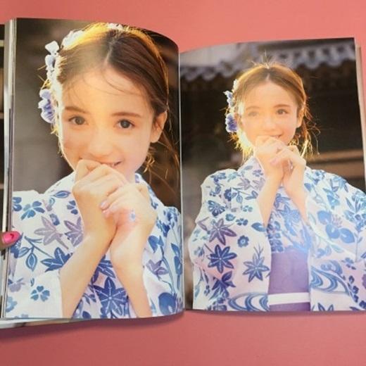 """Vẻ đẹp đến """"nao lòng"""" của LâmTiểu Trạch (Nguồn Weibo)"""