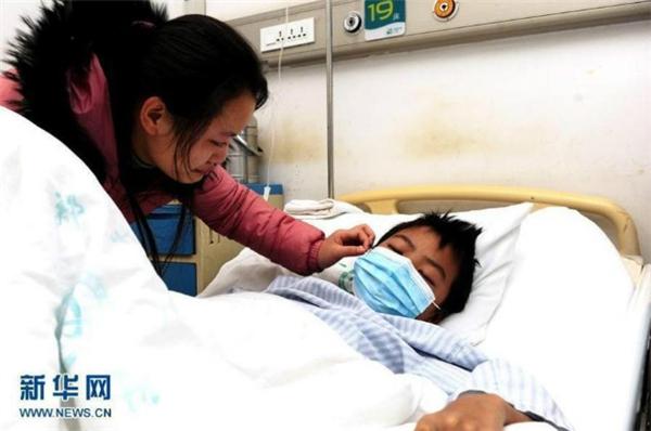 Người anh của cô sắp được cứu sống. (Ảnh: News.cn)
