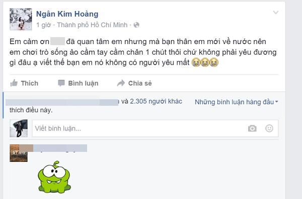 Hotgirl chính thức phủ nhận chuyện yêu em trai HH Huỳnh Bích Phương.