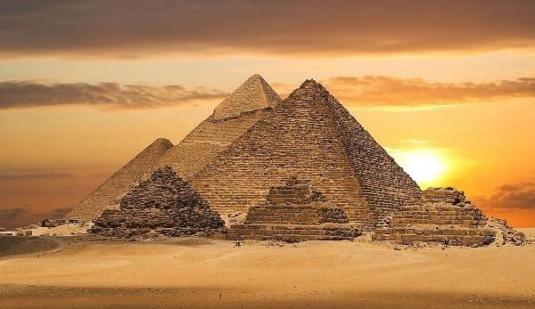Kim tự tháp của Ai Cập. (Ảnh: Internet)