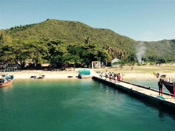 Một cảnh ở đảo Điệp Sơn. (Ảnh: Internet)
