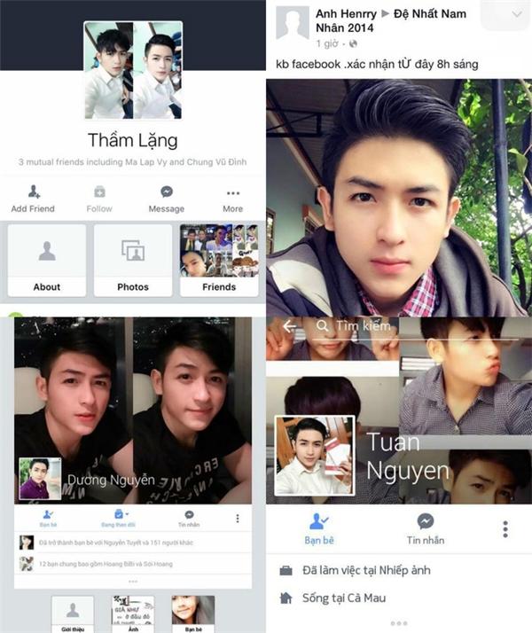 Hải Dương thường xuyên bị giả mạo facebook.