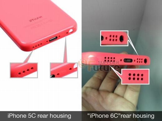iPhone 5c thế hệ tiếp theo bị rò rỉ trước đó. (Ảnh: Internet)