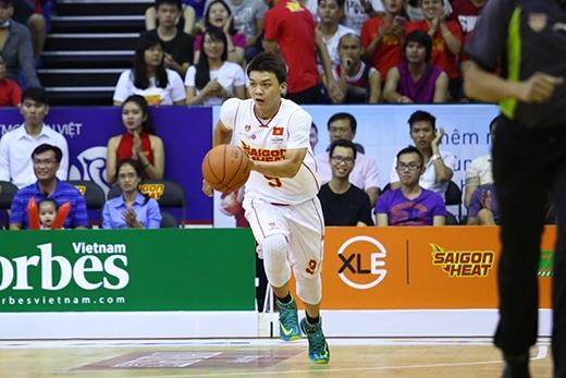 Triệu Hán Minh có mùa giải thứ 3 thi đấu cho Saigon Heat tại ABL.