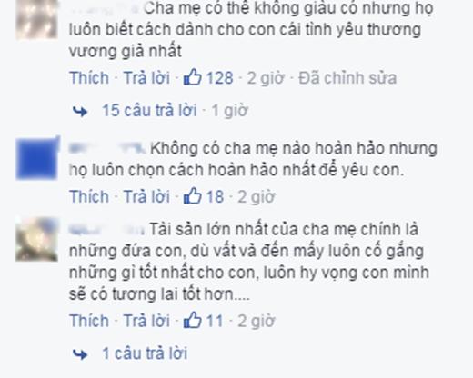 Một số bình luận của cộng đồng mạng (Ảnh: Facebook)