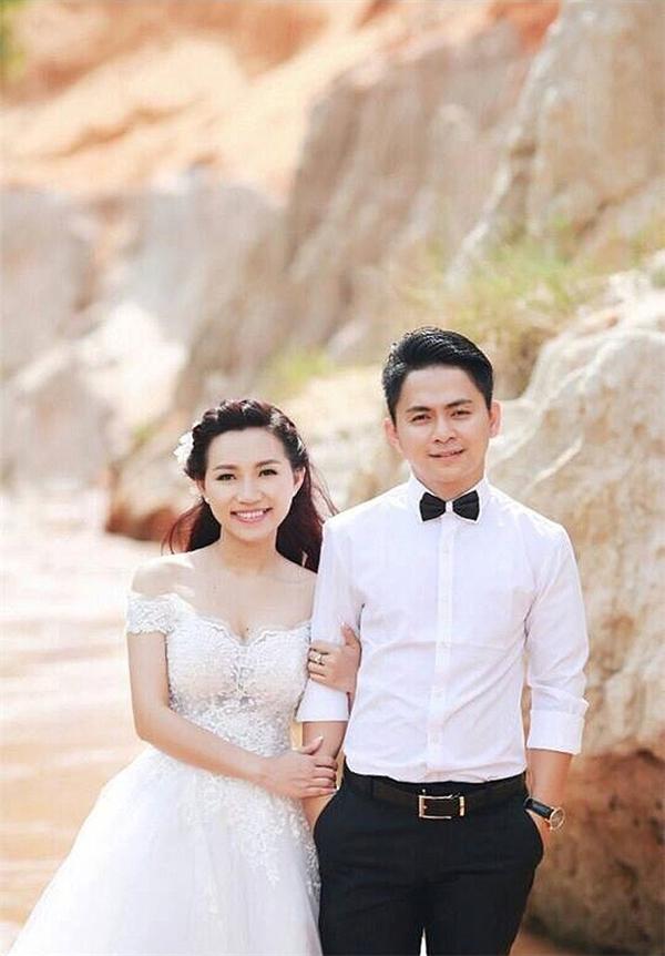 Cô dâu Ngọc Mai và chú rể Thanh Duy. (Ảnh: Internet)