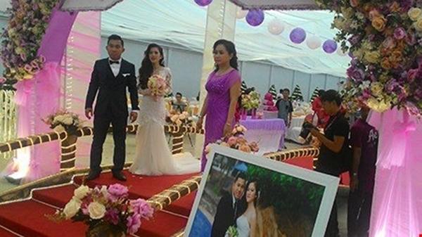 Cô dâu, chú rể tại lễ cưới. (Ảnh: Internet)