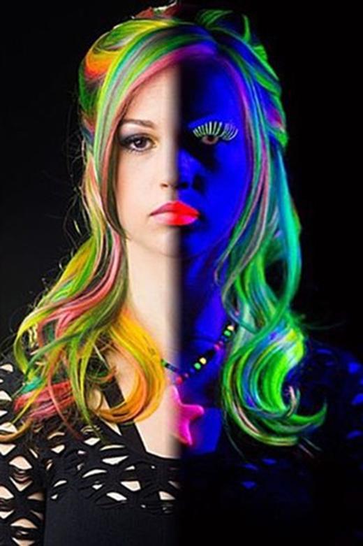 Mái tóc ngoài sáng và trong tối khác nhaumột trời một vực. (Ảnh: misheledimariadesigns)