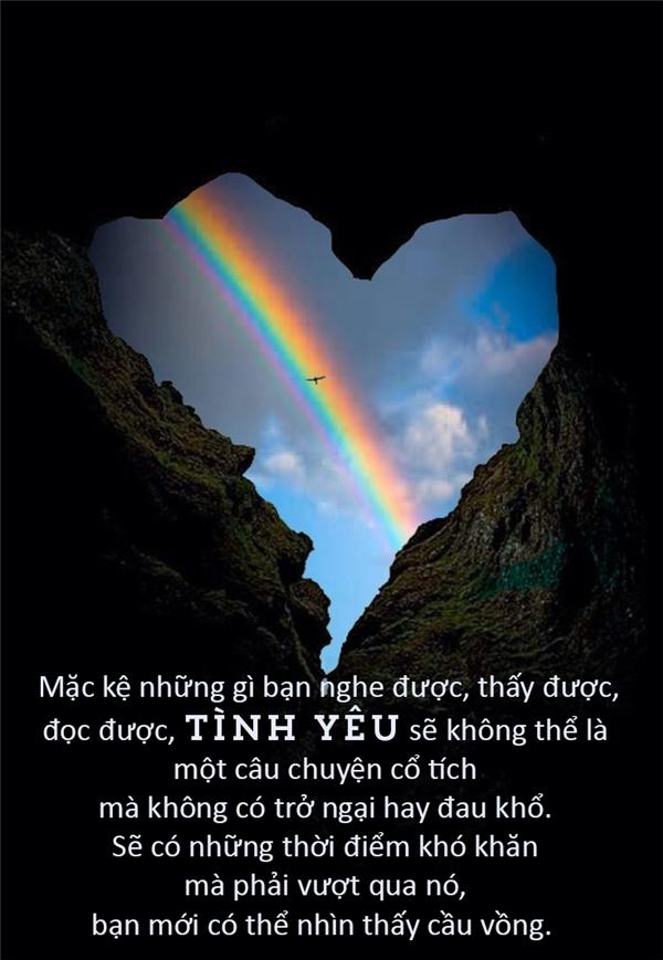 Tình yêu là một hành trình hạnh phúc và đau khổ. (Ảnh: Internet)