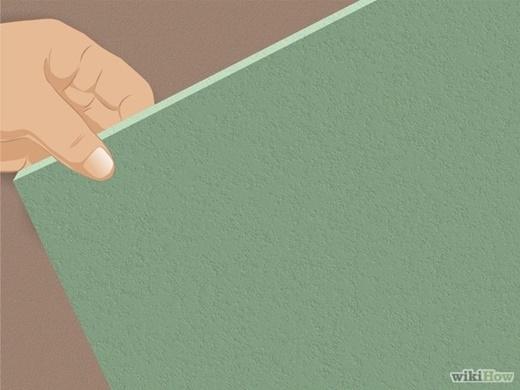 Nếu như trần nhà được làm từ một vật liệu xốp, từ gỗ hoặc từ thạch cao, những vật liệu này không thể nào chà rửa sạch, hoặc không thể chà rửa, cách duy nhất bạn nên làm là loại bỏ những mảng bị nấm mốc xâm nhập và thay mới hoàn toàn. (Nguồn Internet)