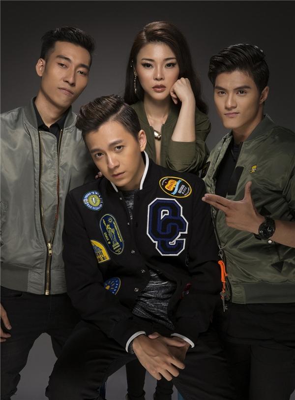 Ngô Kiến Huy khoe ảnh cực ngầu cùng các thành viên trong nhóm - Tin sao Viet - Tin tuc sao Viet - Scandal sao Viet - Tin tuc cua Sao - Tin cua Sao