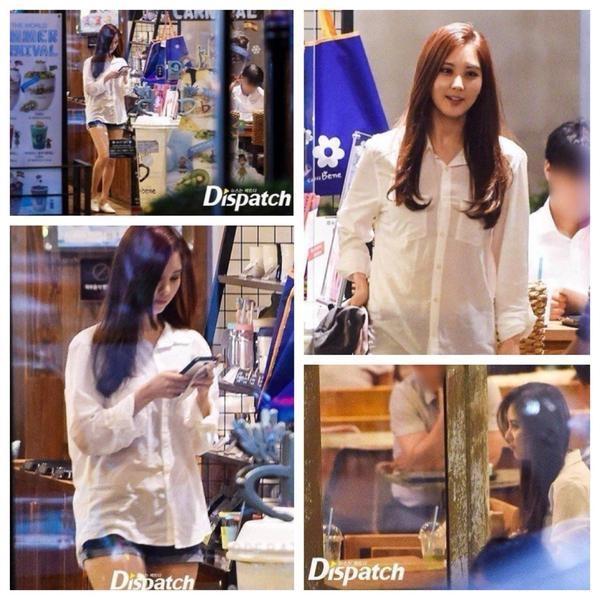 Những hình ảnh Dispatch thu được sau khi theo chân rình rậpSeohyun