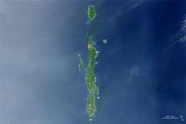 Quần đảo Andaman ở Đông Nam Á.