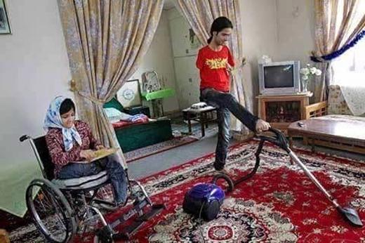 Cuộc sống của Ahmad và Famita tràn ngập tình yêu thương. (Ảnh: Internet)