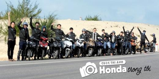 Đi tìm chủ nhân của 03 chiếc xe Honda phiên bản đặc biệt