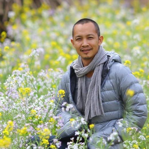 """Nhiếp ảnh gia Nguyễn Na Sơn – giám khảo của cuộc thi ảnh """"Honda trong tôi""""."""