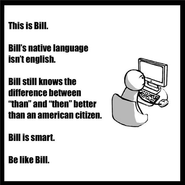 """Một vài hình ảnh từ trang """"Be Like Bill"""". (Ảnh: FB)"""