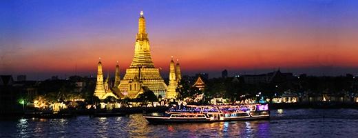 Năm nay Rồng xứng đáng được nghỉ ngơi dài ngày tại Bangkok. (Ảnh: Internet)