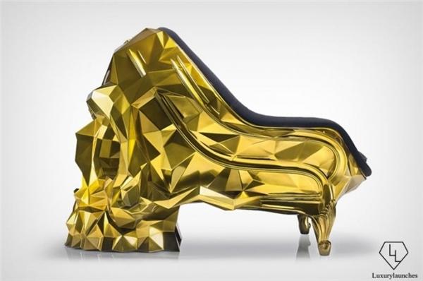 Chiếc ghế này rất sang trọng và cứng cáp.(Ảnh:Luxury Launches)