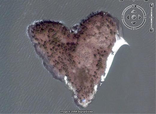 """Đây là """"hòn đảo tình yêu nằm ở phía nam Hàn Quốc. (Ảnh: Internet)"""