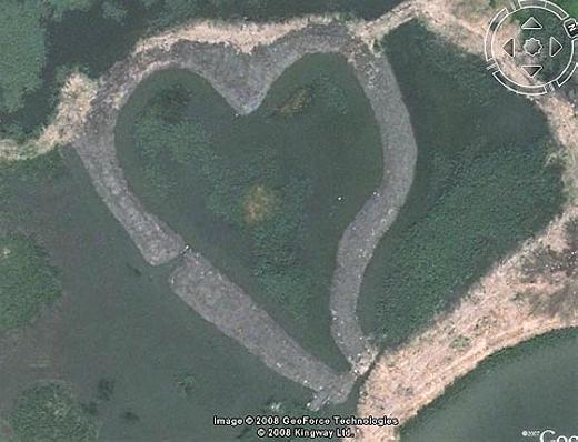 Công viên tình yêu ở thành phố Đài Bắc, Đài Loan. (Ảnh: Internet)