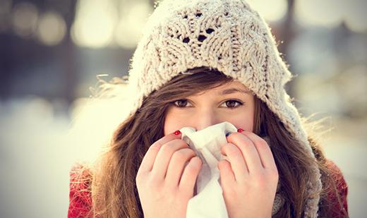 Khi ngạt mũi, bạn sẽ thấy rất khó chịu vìchỉ thở được bằng một bên, nhưng bạn có biết lúc khỏe mạnh, mũi chúng ta cũng hoạt động gần như thế? (Ảnh: Internet)