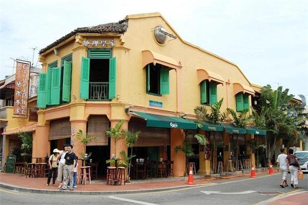 Một góc nhỏ của Malacca và không khác Hội An là bao.(Ảnh: Internet)