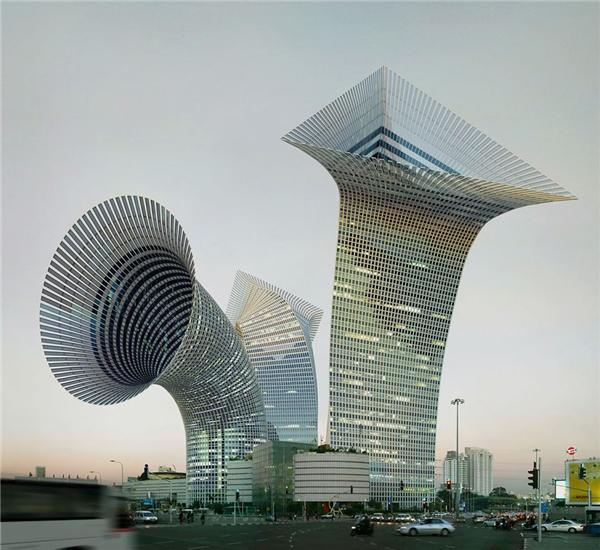 Những tòa nhà được thay đổi một cách cực kì sáng tạo. (Ảnh: Internet)