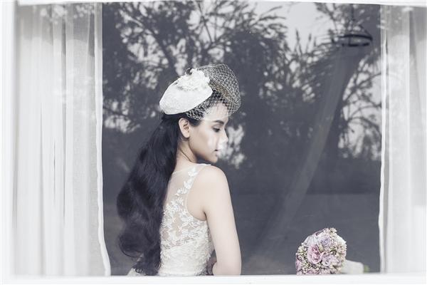 Trang Nhung diện váy cưới theo phong cách châu Âu sang trọng. - Tin sao Viet - Tin tuc sao Viet - Scandal sao Viet - Tin tuc cua Sao - Tin cua Sao