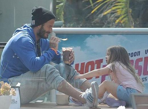 Beckham sẽ nhốt Harper Seven như Rapunzel khi cô bé đến tuổi hẹn hò