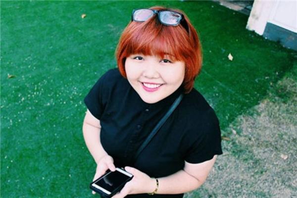 Linh Trang - cô nàng mũm mĩm sở hữu giọng hát ngọt ngào.
