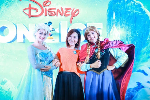 VJ Kim Nhã là fan ruột của các nhân vật Disney