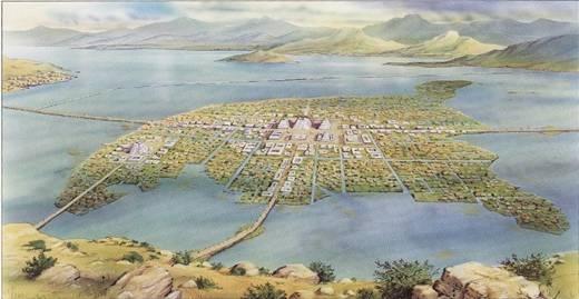 Điều đặc biệt làthủ đô Tenochtitlanđược xây dựng trên một hòn đảo nằm trên hồ Texcoco và được nối bằng các kênh đào. Do đó, để tiếp cận thủ đô của đế chế Aztec, mọi người chỉ có thể đi bằng thuyền hoặc đi bộ qua các cây cầu.