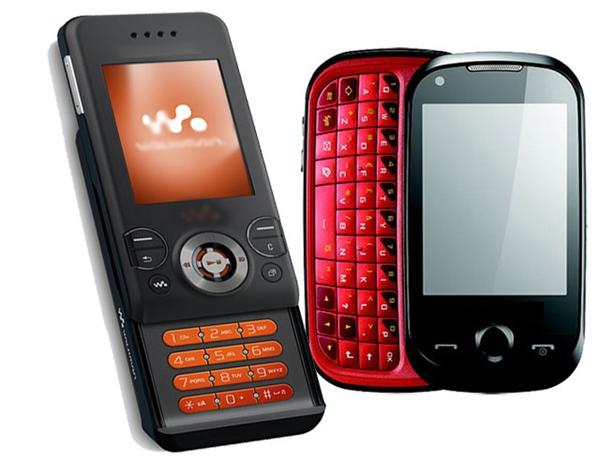 Các dòng điện thoại trước đây có kiểu dáng vô cùng phong phú và đa dạng. (Ảnh: Internet)