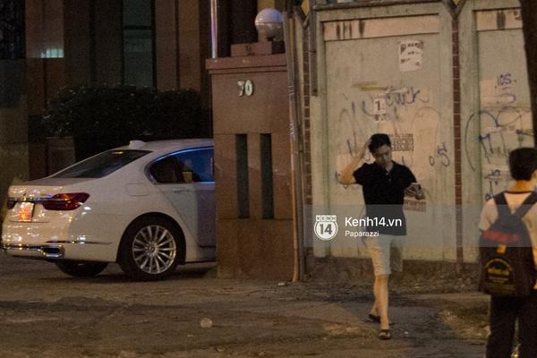 Hình ảnh cho thấy Midu được Phan Thành đón tại nhà riêng. (Ảnh: Internet) - Tin sao Viet - Tin tuc sao Viet - Scandal sao Viet - Tin tuc cua Sao - Tin cua Sao