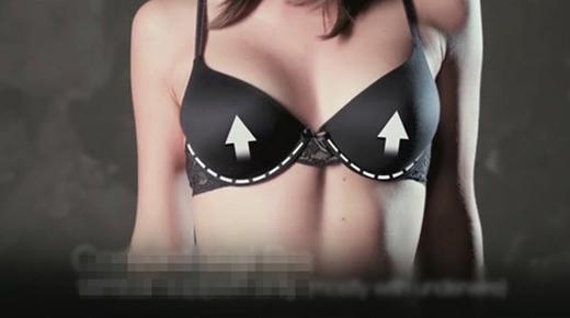 Ngực phụ nữ trẻ chủ yếu dao động theo hai hướng lên - xuống