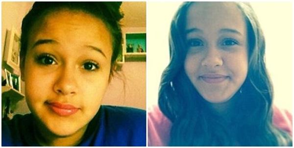 Cô bé xinh đẹp Natalia Jimenez, 15 tuổi, sống tại Manhattan, bang New York, Mỹ.