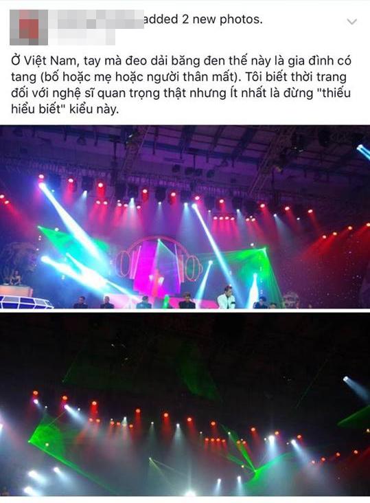 Sự thật về chiếc băng tang mà Sơn Tùng đeo trên sân khấu The Remix - Tin sao Viet - Tin tuc sao Viet - Scandal sao Viet - Tin tuc cua Sao - Tin cua Sao