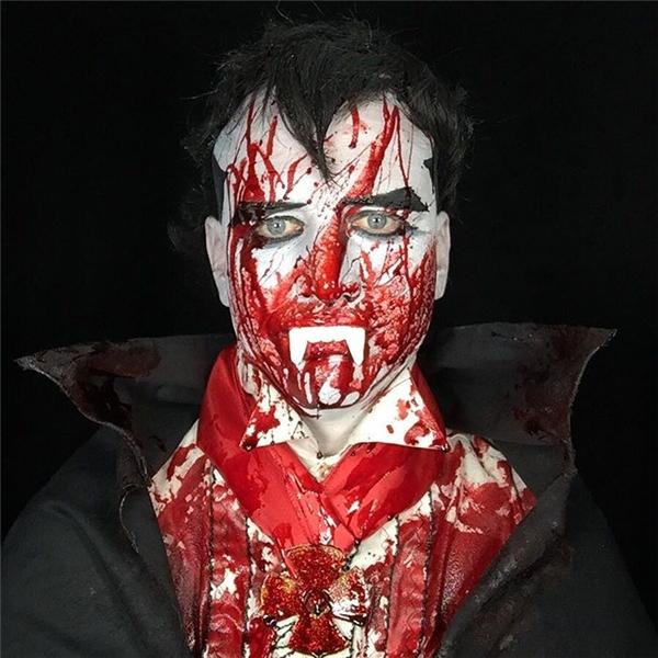 """Một trong những """"tuyệt tác"""" mùa Halloween của Michael.(Ảnh: Instagram)"""