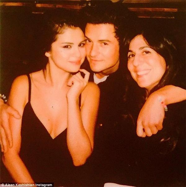 Trước anh chàng giám đốc thời trang này, Selena cũng có tin đồn thân mật vớiOrlando Bloom...