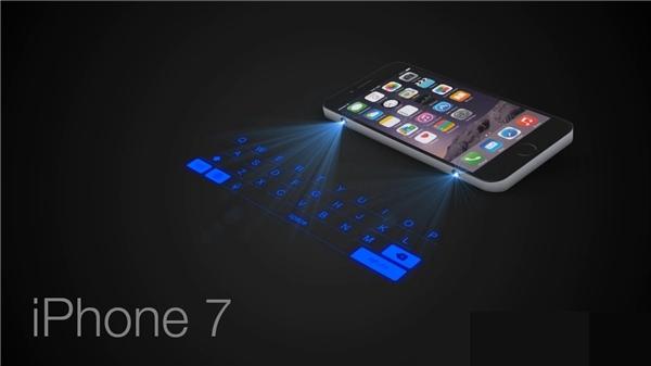 Iphone 7 với projector ở cạnh bên. (Ảnh: Internet)