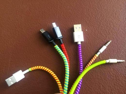 Một phương pháp bảo vệ dây cáp hiệu quả nhưng cũng không kém phần rực rỡ sắc màu (Ảnh: Internet)